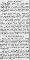 Report of the story of Lusitania survivor Helen Smith (3). Cambrian Daily Leader 10 May 1915