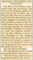 Report of Marie Becker's appointment at Holywell County School. Flintshire Observer 21st January 1915.