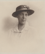 Gertrude Fairclough née Appleby, wife of Major Rowland Fairclough, Royal Welch Fusiliers.
