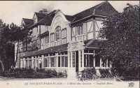 Postcard of Hotel des Anglaises, the VAD hostel in Le Touquet run by Dorothea Pughe Jones.