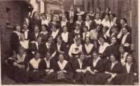 Aberdare ('Old') Hall students 1917. Renée MacDonald is one of them.